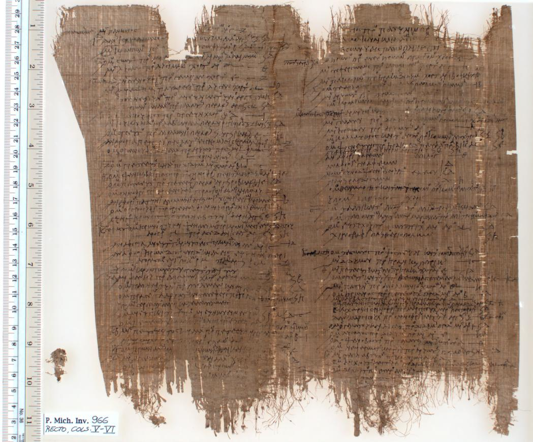 ancient greek writing Ancient writing materials:  papyrus was expensive enough in ancient egypt that it was often recycled and reused  greek papyrus reused for the feet .