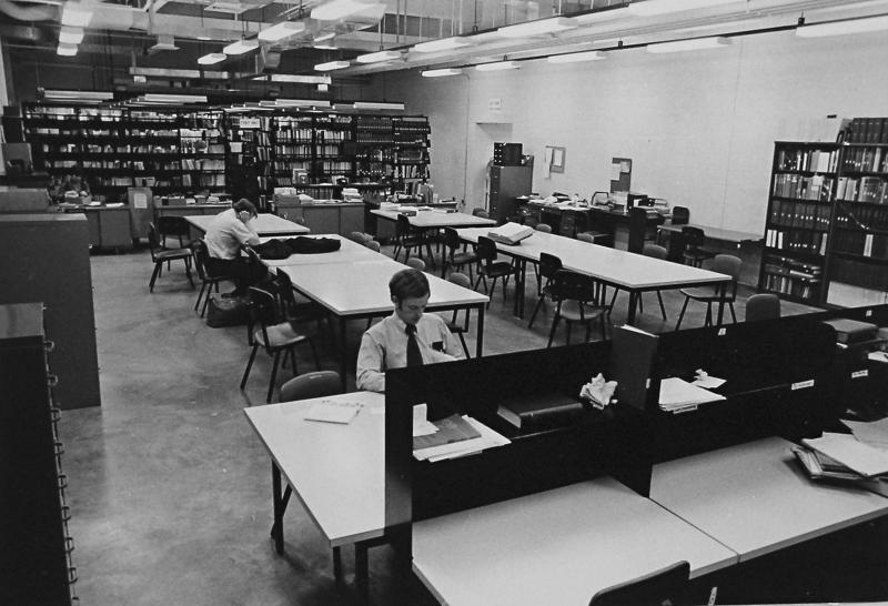 Dentistry Library, 1970