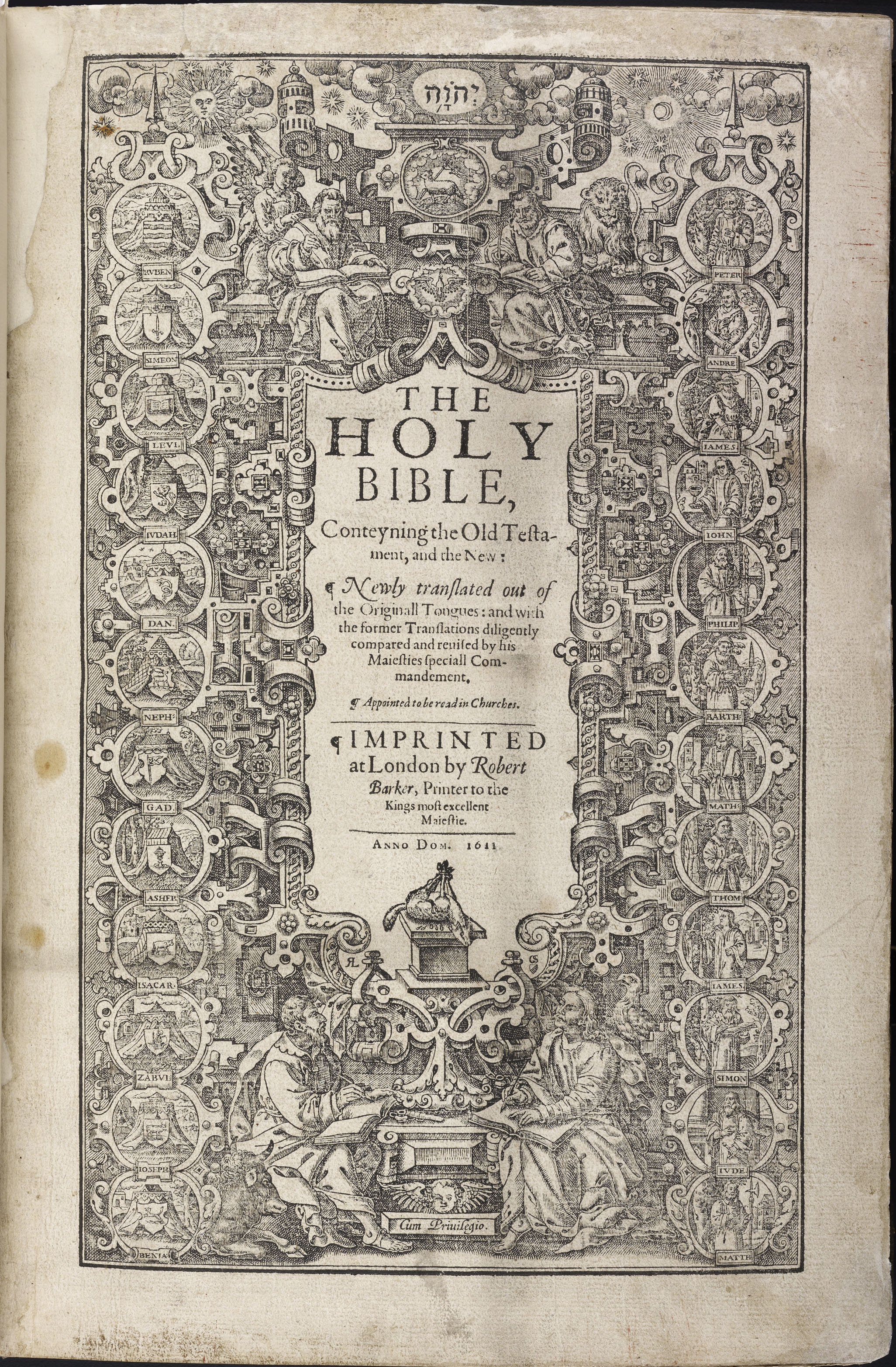 The Holy Bible, Conteyning the Old Testament, and the New ...