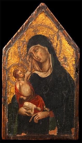 Digital photograph of Duccio painting