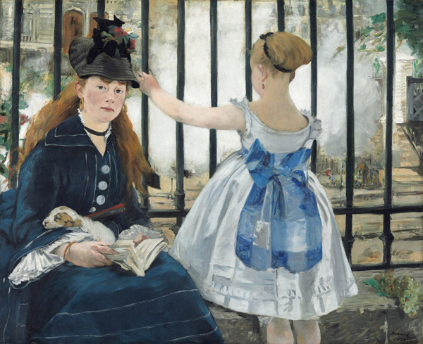 Digital image of painting by Edouard Manet