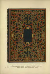 Image of Book Cover Plate from title- A short history of book binding and a glossary of styles and terms used in binding