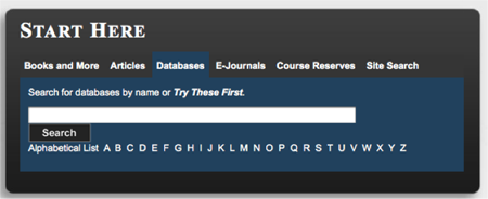 Penn State Search Box