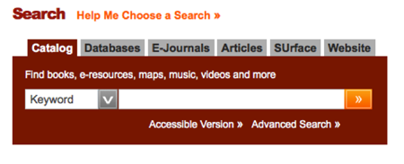 Syracuse Search Box