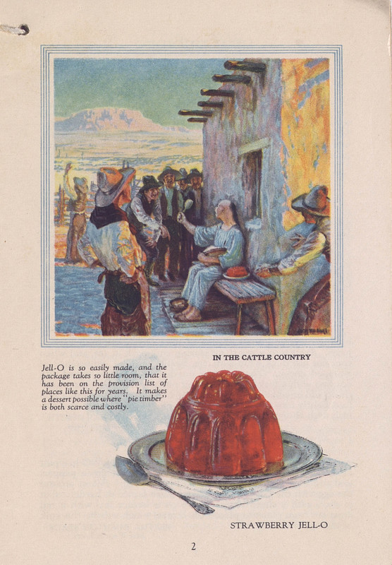 Jell-O, America's most famous dessert, at home everywhere (1922); p. 2