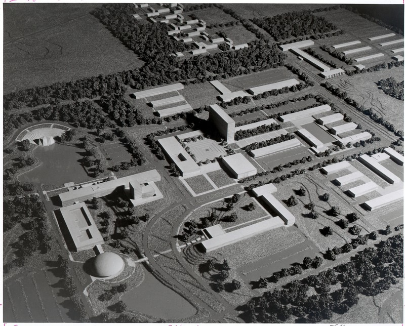 North campus plan designed by Eero Saaranin