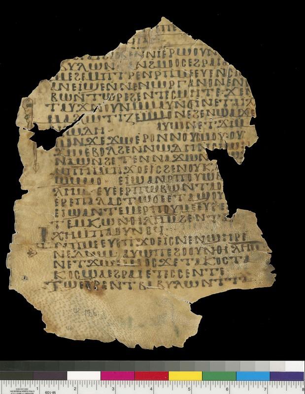 Mich. Ms. 116Psalms. Recto. Parchment.White Monastery, Sohag (Egypt). ca. 10th century. Parchment; 22.5 x 18.8 cm.