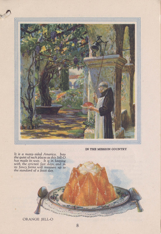 Jell-O, America's most famous dessert, at home everywhere (1922); p. 8
