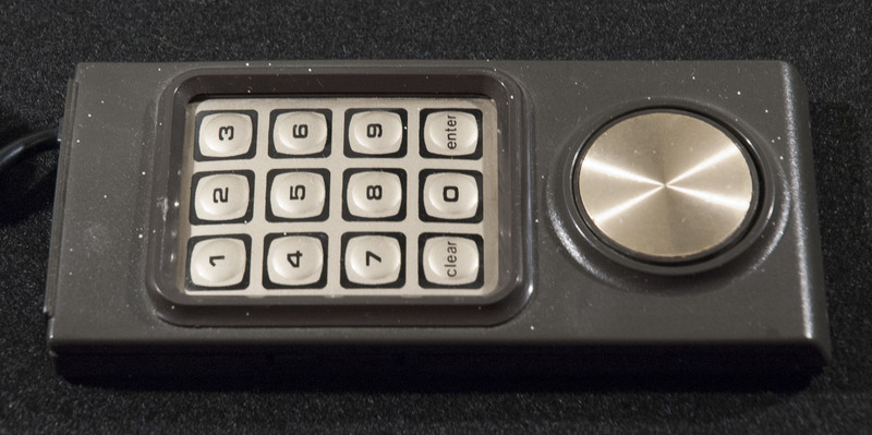Intellivision controller outside
