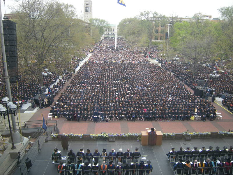 Spring Commencement, 2008