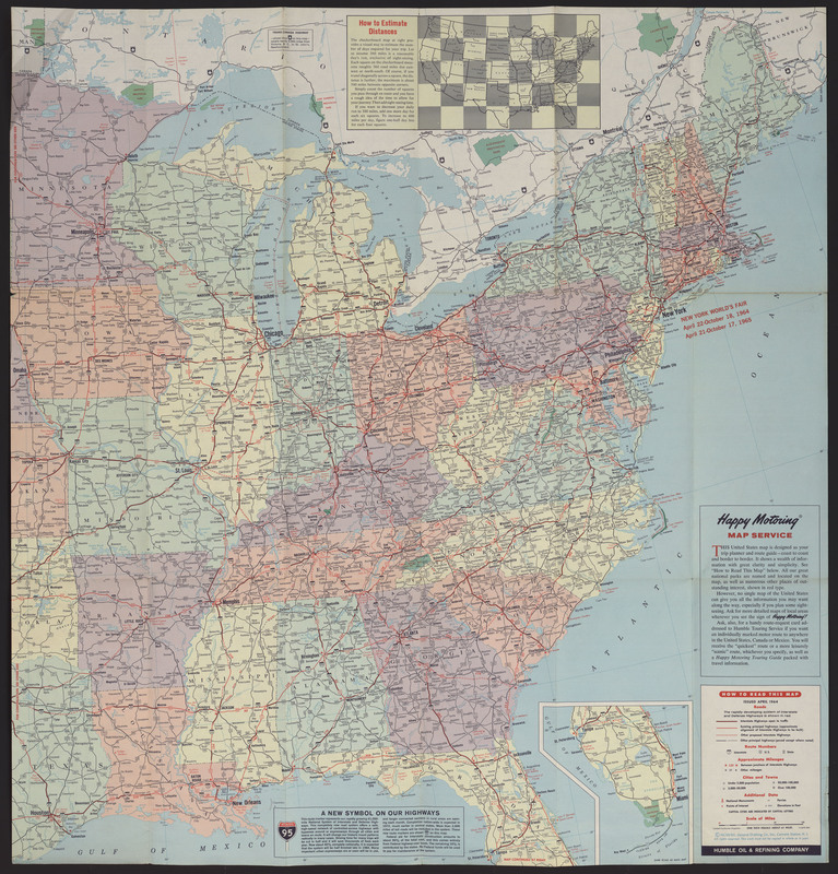 United States: featuring the Interstate Highway System