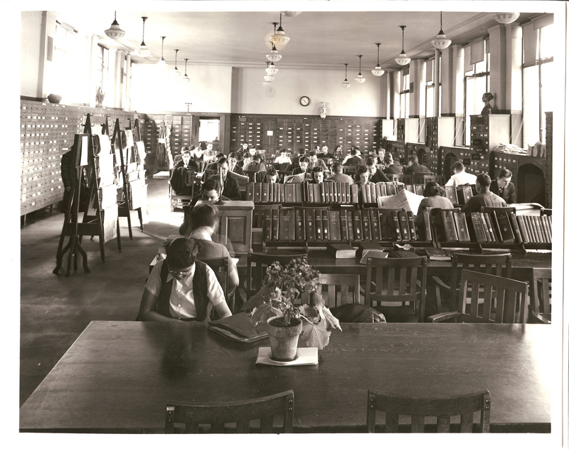 General Library, Periodical Reading Room, April 1939