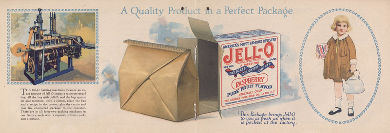 Polly put the kettle on, we'll all make Jell-O (1924); [centerfold]