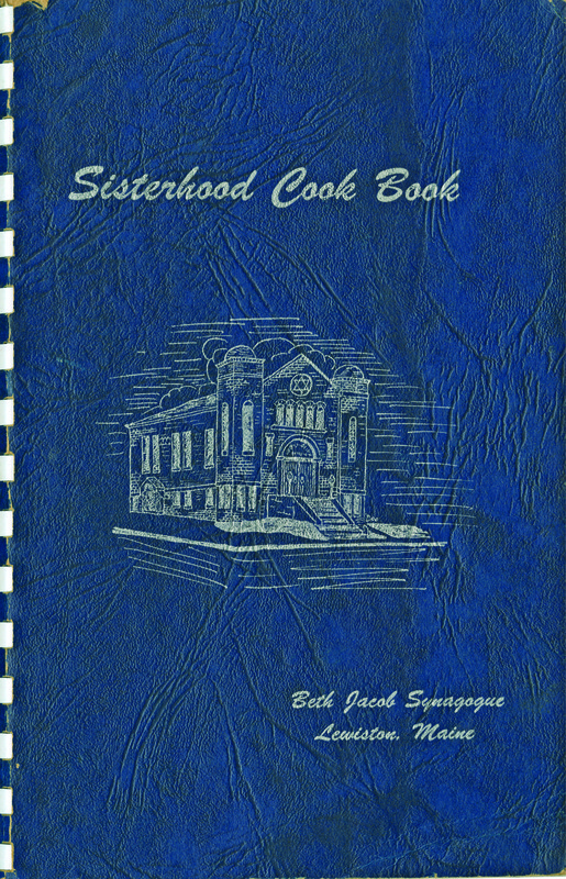 Sisterhood Cook Book