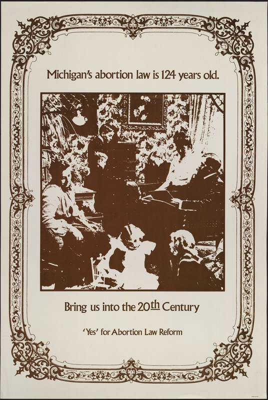 Michigan's Abortion Law Is 124 Years Old