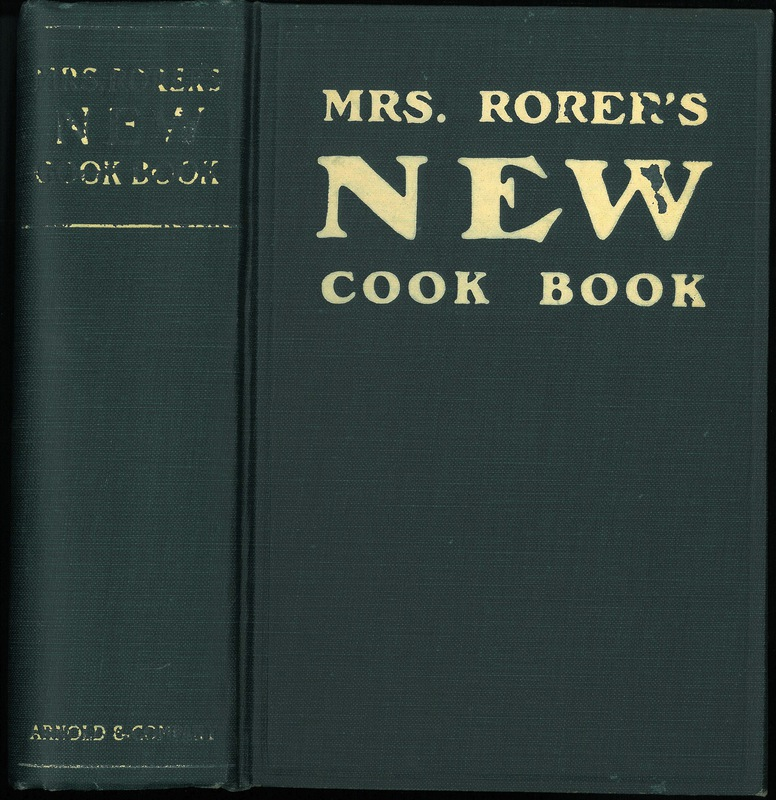 Mrs. Rorer's New Cook Book
