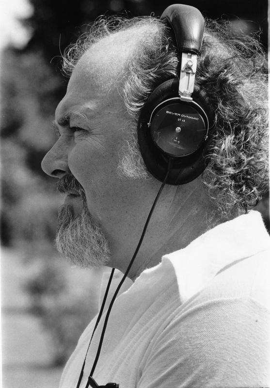 Photograph of Robert Altman on set of Nashville