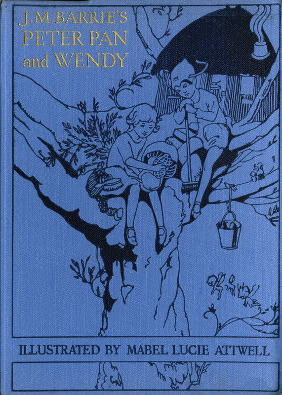 Cover of J.M. Barrie's Peter Pan & Wendy
