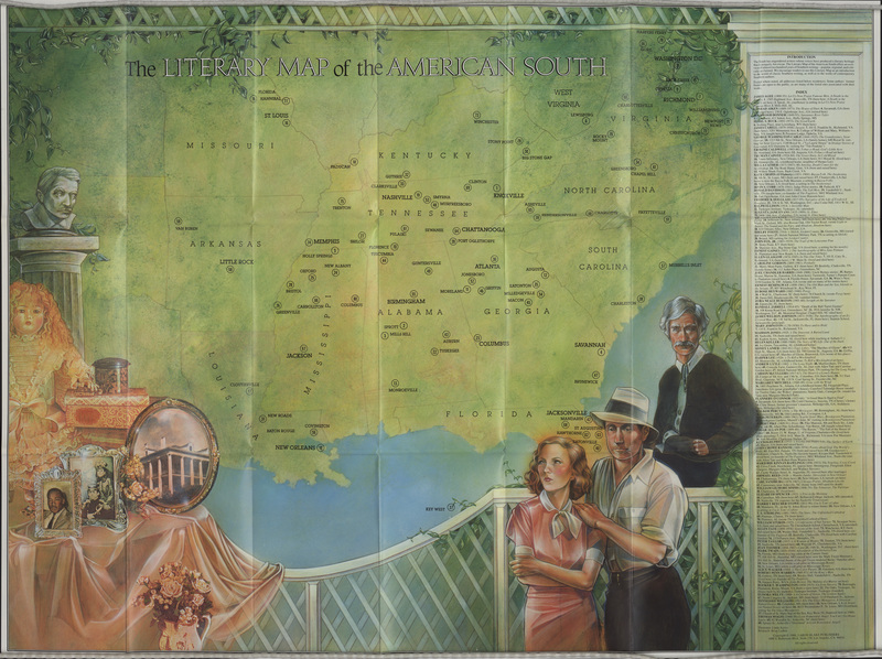 The Literary Map of the American South