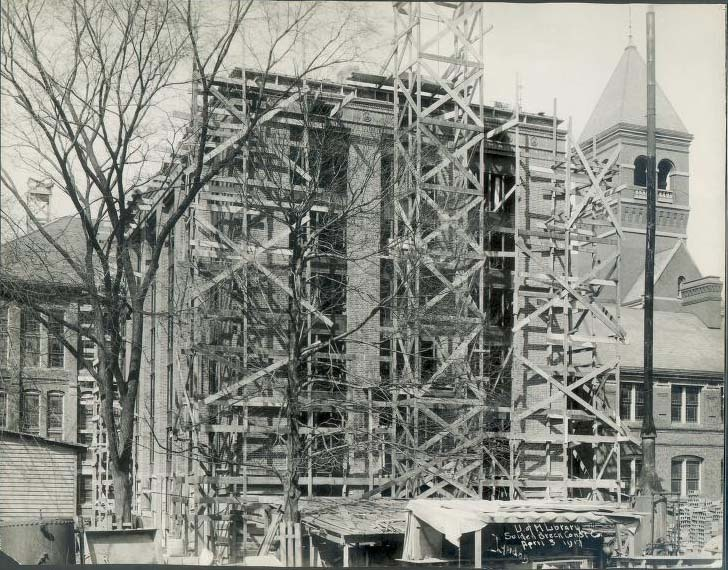 Exterior Construction of the General Library