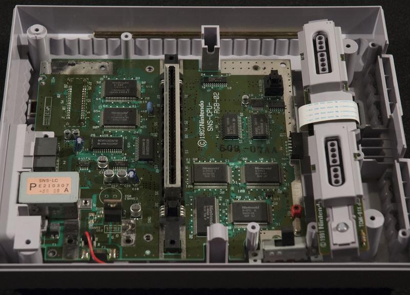 Super Nintendo (SNES) Inside