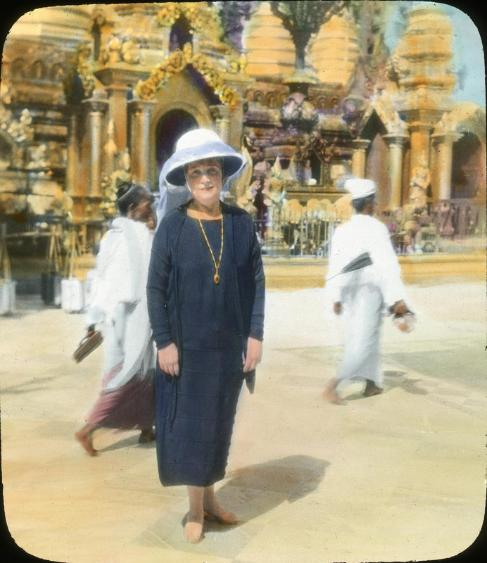 An Artful Life: The Colored Lantern Slides of Anna Caulfield McKnight
