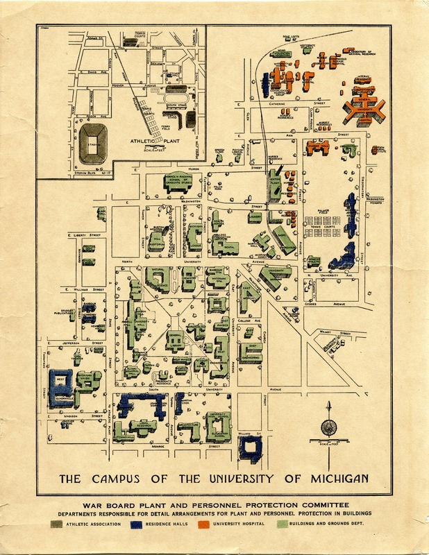 The Campus of the University of Michigan