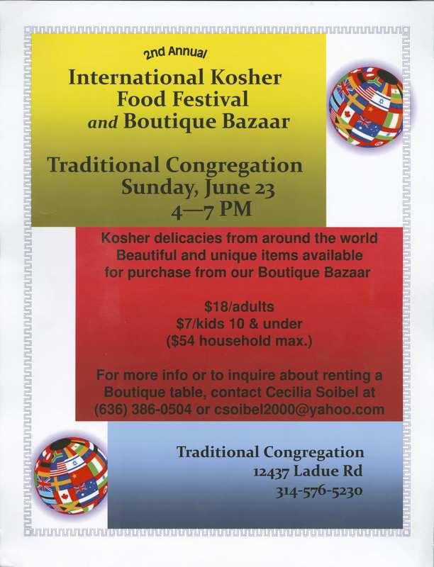 International Kosher Food Festival