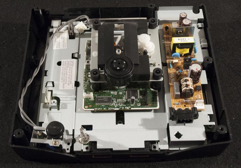Sega Saturn Inside