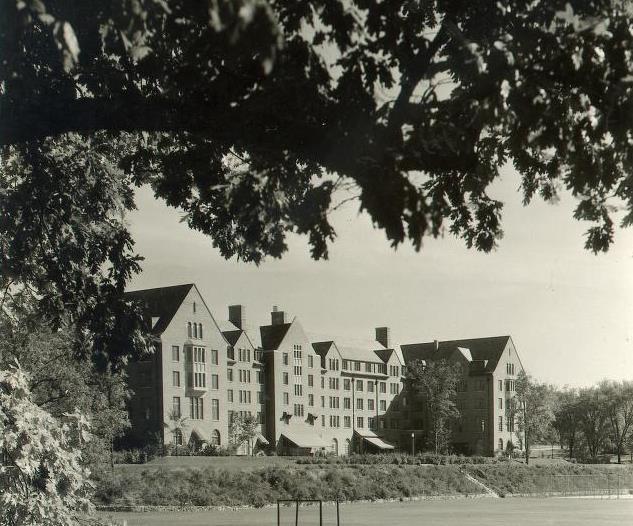 Mosher-Jordan residence halls