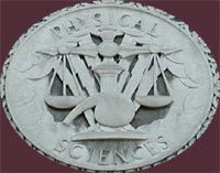 North Facade Stone Medallions