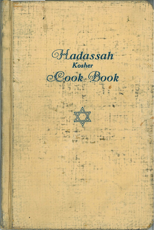 Hadassah Kosher Cook Book