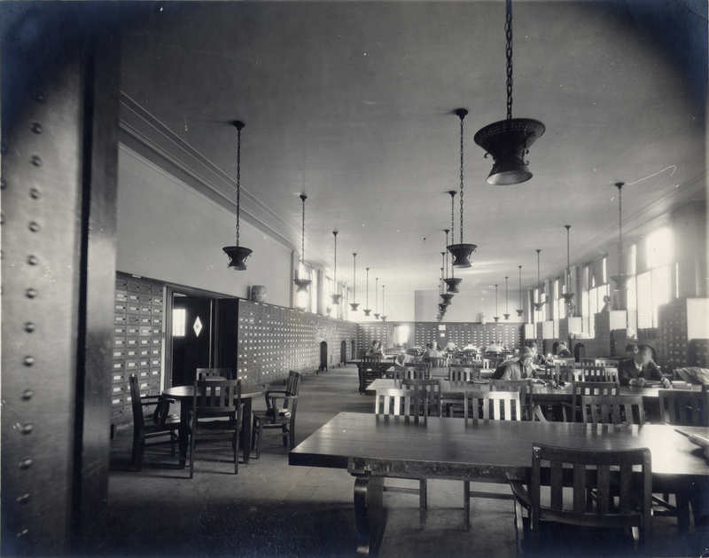 General Library, Periodical Room, 1925
