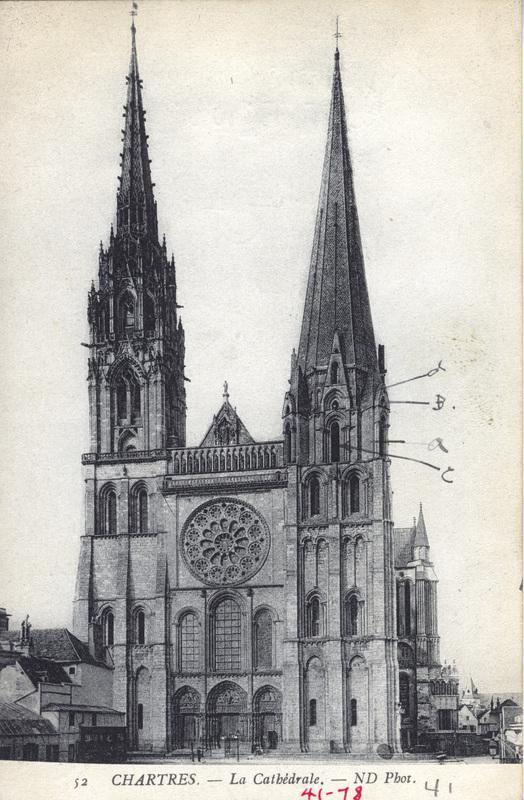 52 Chartres. - La Cathedrale.