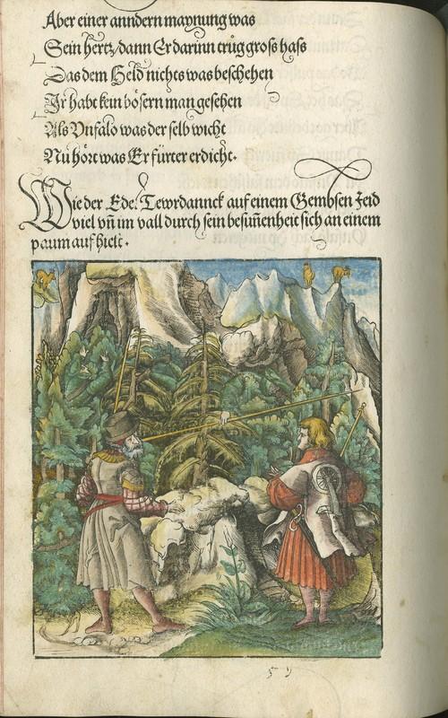 Die Geverlicheiten und eins Teils der Geschichten des loblichen Streytparen und hochberümbten Helds und Ritters herr Tewrdannckhs