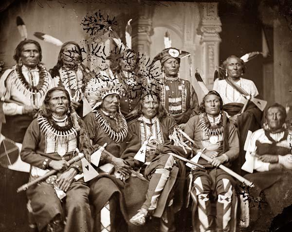 Group of Native American Chiefs