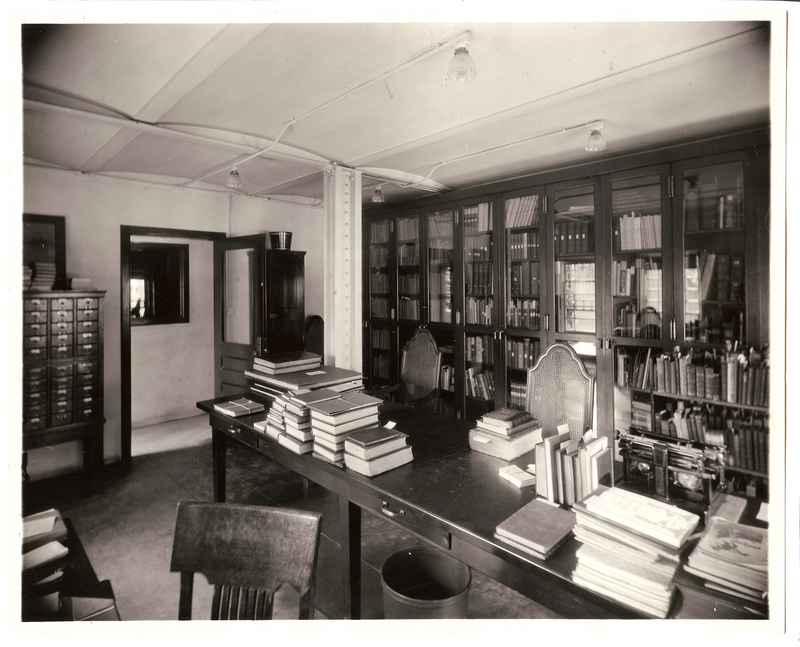 General Library, Rare Book Room, June 1927