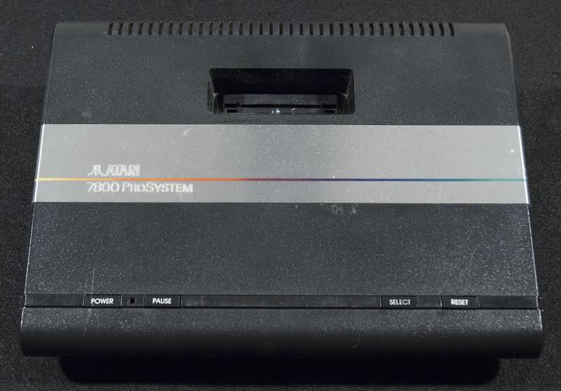 Atari 7800 Outside
