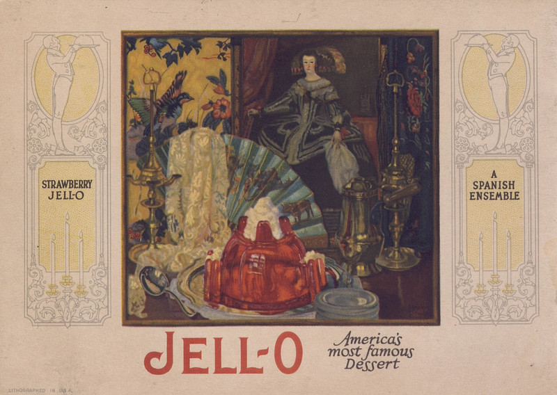 Jell-O, America's most famous dessert (1926); [back cover]