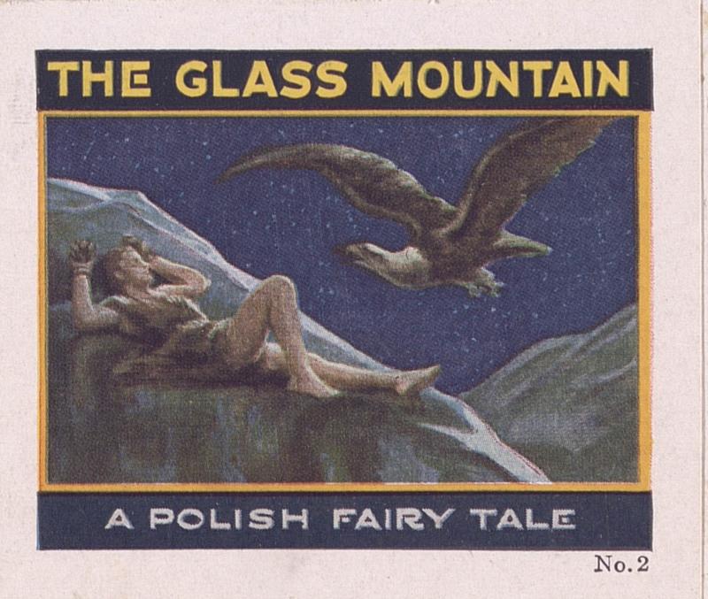 The glass mountain: a Polish fairy tale, no. 2 [Jell-O recipe brochures] (1928); p. [1]