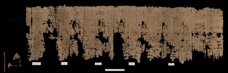 Iliad. Book 18. 393-617 (with extensive lacunae) (P. Mich. Inv. 3160)