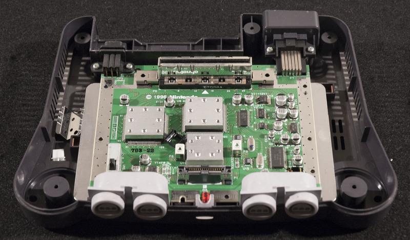 Nintendo 64 Inside