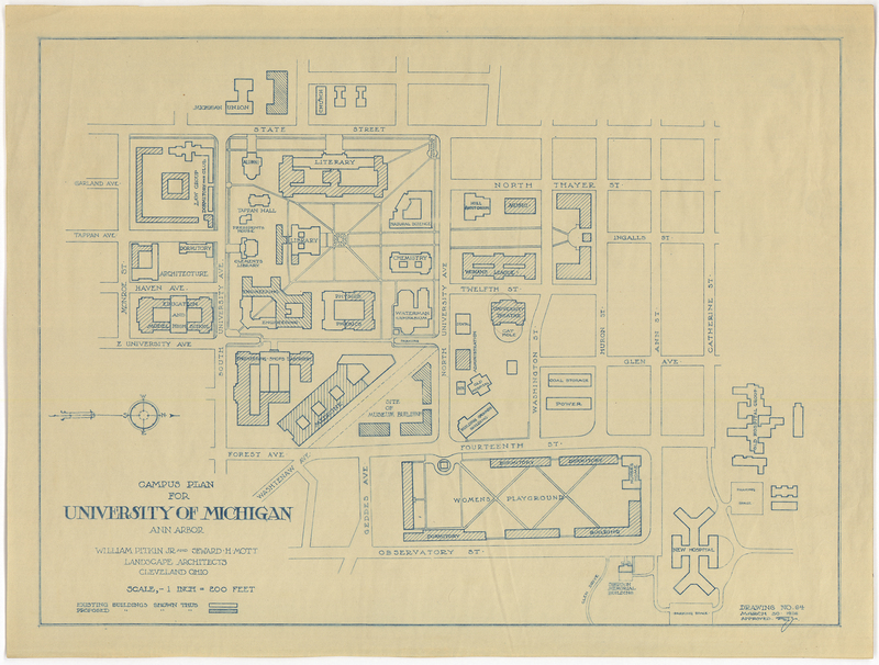 Campus Plan for the University of Michigan, Ann Arbor