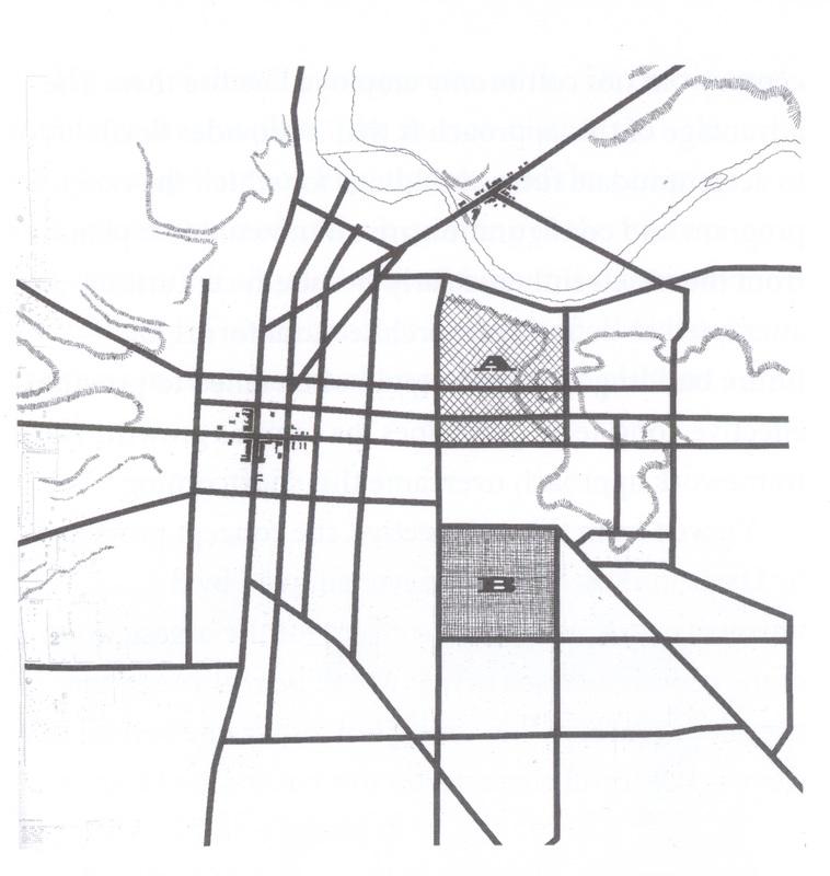 Ann Arbor Land Company parcels map
