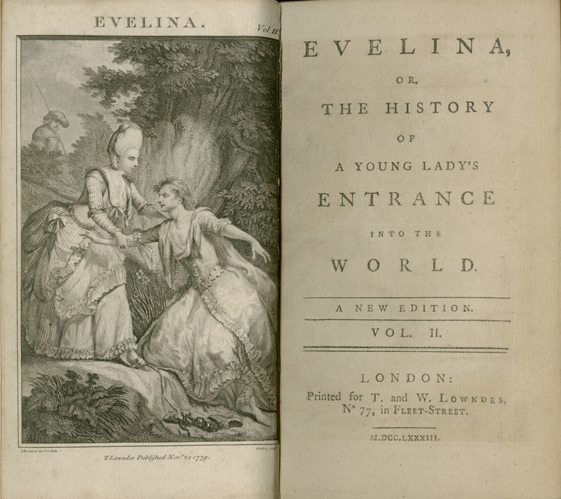 Evelina Or The History Of A Young Ladys Entrance Into World