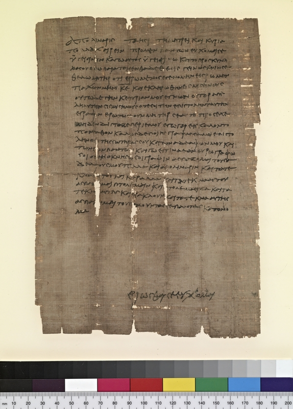 Letter from Apollinarius to his Mother, Taesis