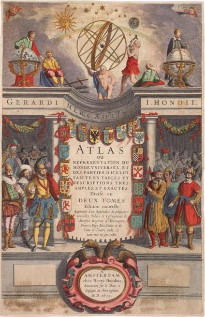 Mercator-Hondius Atlas of 1633