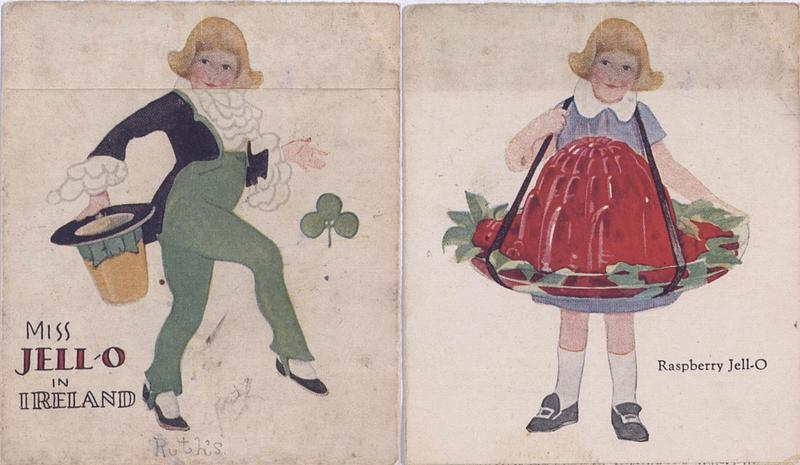 Miss Jell-O visits Ireland (1926); [recto details]