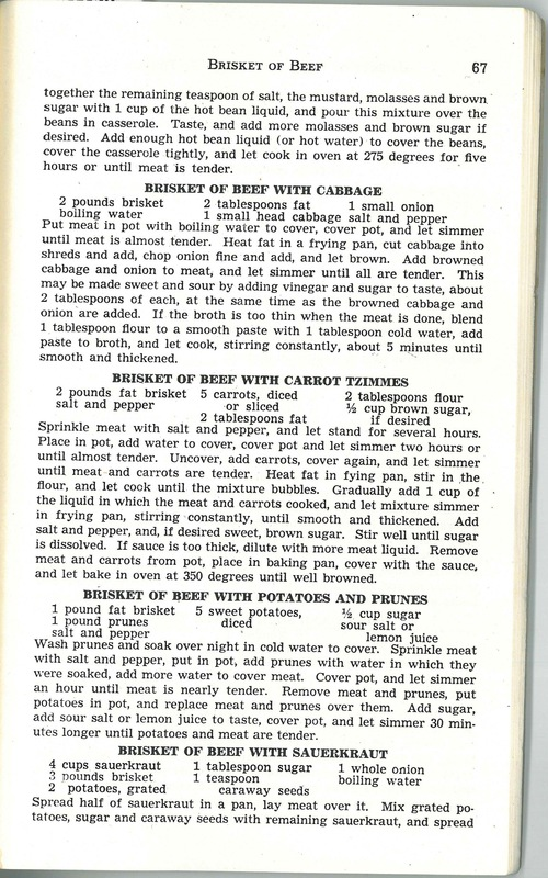 Book of Jewish Recipes
