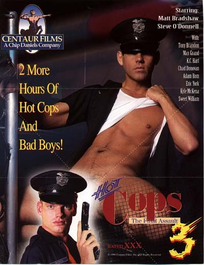 Flyer for Hot Cops 3